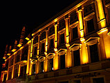 Освещение зданий, фасадов зданий светодиодной лентой, гибким неоном, прожекторами, светильниками., фото 4