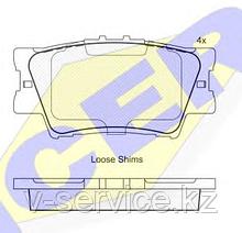 Тормозные колодки GROSS-445(REMSA 1231.00)
