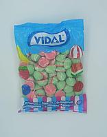 """Жевательный мармелад """"Арбуз кислый с начинкой"""" Vidal Испания 1 кг"""
