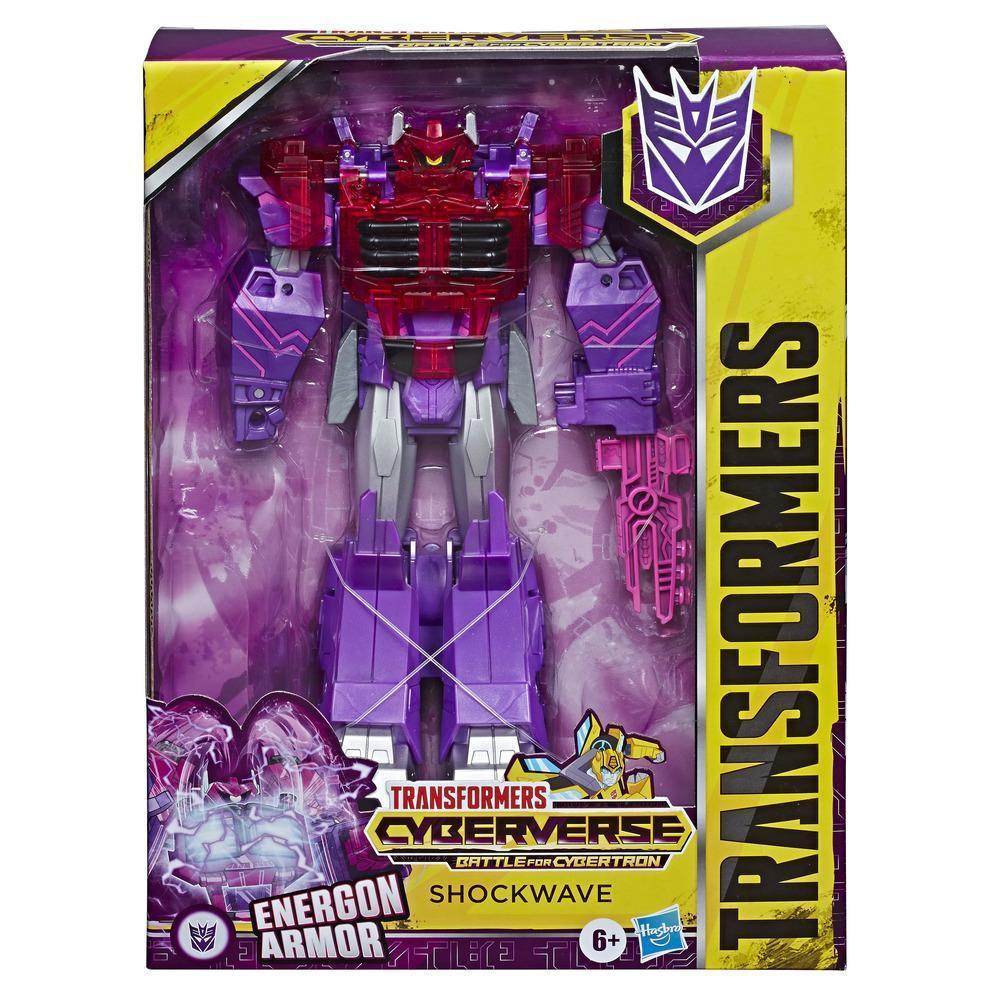 """Hasbro Трансформеры """"Кибервселенная: Класс Алтимейт"""" Шоквейв, 24 см."""