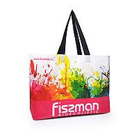 Разноцветная промо-сумка для покупок (пурпурная) 50x12x40 см