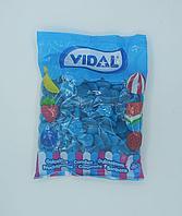 """Жевательный мармелад """"Сердечки черничные с начинкой"""" Vidal Испания 1 кг"""