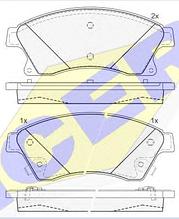 Тормозные колодки KEBONO-661(REMSA 1431.12)