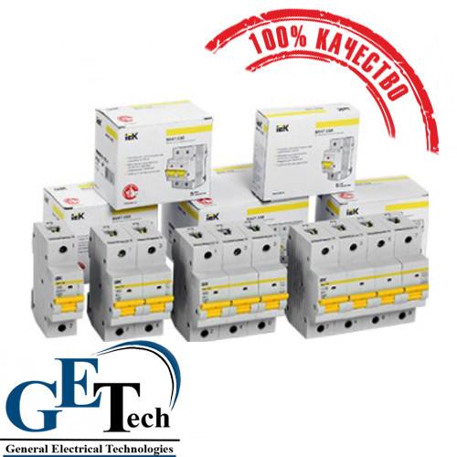 Автоматический выключатель ВА 47-29 1ф, 2ф, 3ф, (6А, 10А, 16А, 20А, 25А, 32А, 40А, 50А, 63А) IEK. ИЭК