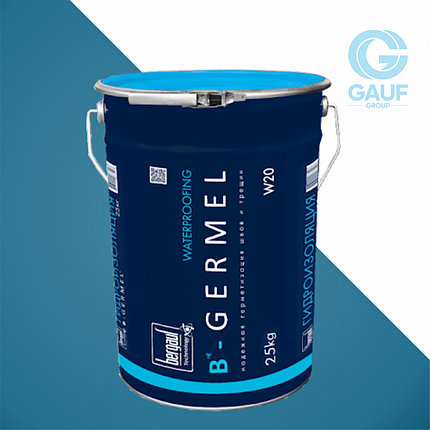 B-GERMEL, Смесь для гидроизоляции швов, стыков, трещин, примыканий, вводов коммуникаций, 25кг, фото 2