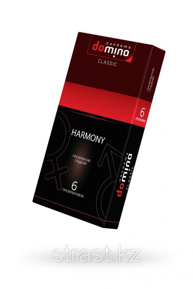 ПРЕЗЕРВАТИВЫ LUXE DOMINO CLASSIC HARMONY 6 ШТ, 18 СМ