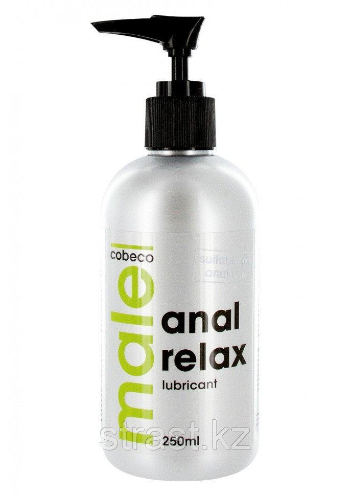 Анальный лубрикант на водной основе Male Anal Relax - 250 мл