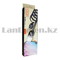 Зарядный USB кабель Type-c длина 1 метр Moxom QC 3.0 micro черный