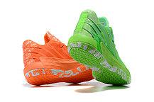 """Баскетбольные кроссовки Dame 7 """"Green&Orange"""" (40-46), фото 2"""