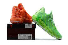 """Баскетбольные кроссовки Dame 7 """"Green&Orange"""" (40-46), фото 3"""