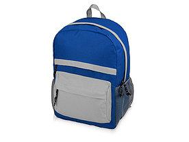 Рюкзак Универсальный (синяя спинка, синие лямки), синий/серый