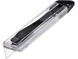 Нож канцелярский Hoost с выдвижным лезвием, черный