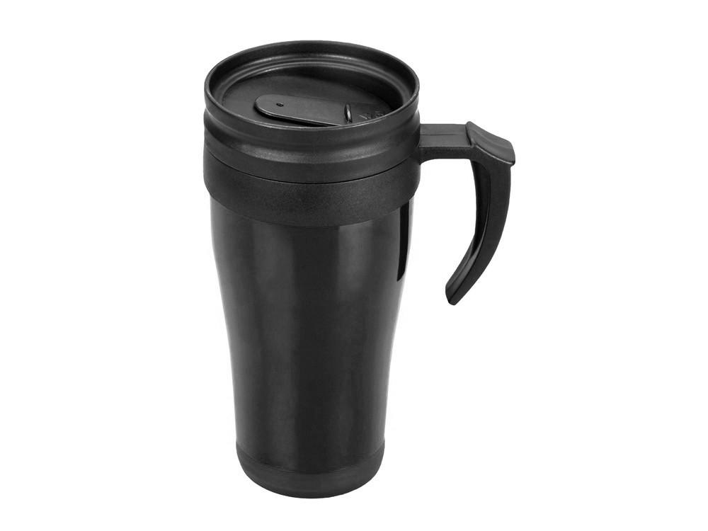 Кружка с термоизоляцией Silence 350мл, черный