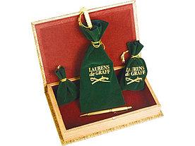 Набор: часы песочные, нож для бумаг, ручка шариковая, брелок-термометр Клипер