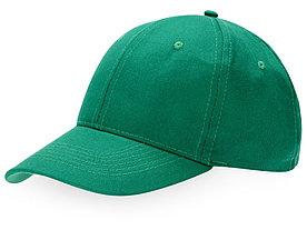 Бейсболка Detroit 6-ти панельная, зеленый