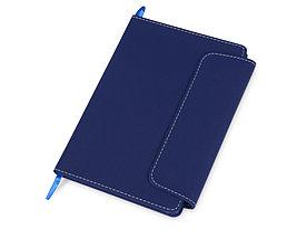 Блокнот A5 Horsens с шариковой ручкой-стилусом, синий