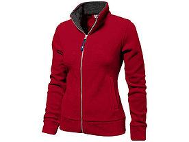 Куртка флисовая Nashville женская, красный/пепельно-серый