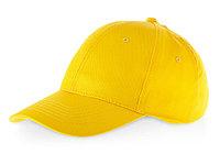 Бейсболка Detroit C 6-ти панельная, желтый