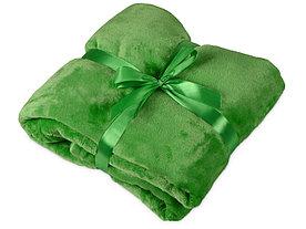 Плед мягкий флисовый Fancy, зеленый
