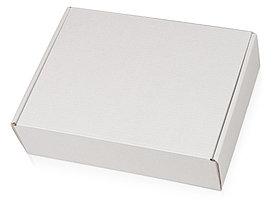 Коробка подарочная Zand M, белый/крафт