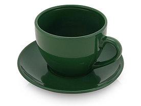 Чайная пара Гленрок, 220мл, зеленый (Р)
