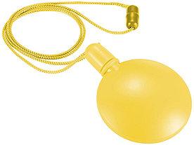 Круглый диспенсер для мыльных пузырей Blubber, желтый