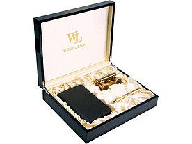 Набор William Lloyd : лорнет, ручка-роллер, трэвел-портмоне на молнии