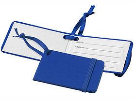 Багажная бирка Tripz, ярко-синий