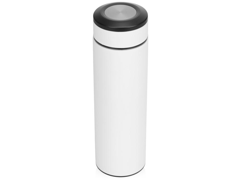 Термос Confident с покрытием soft-touch 420мл, белый