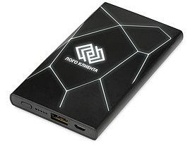 Портативное беспроводное зарядное устройство Geo Wireless, 5000 mAh, черный