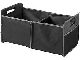 Органайзер-гармошка для багажника, черный/серый