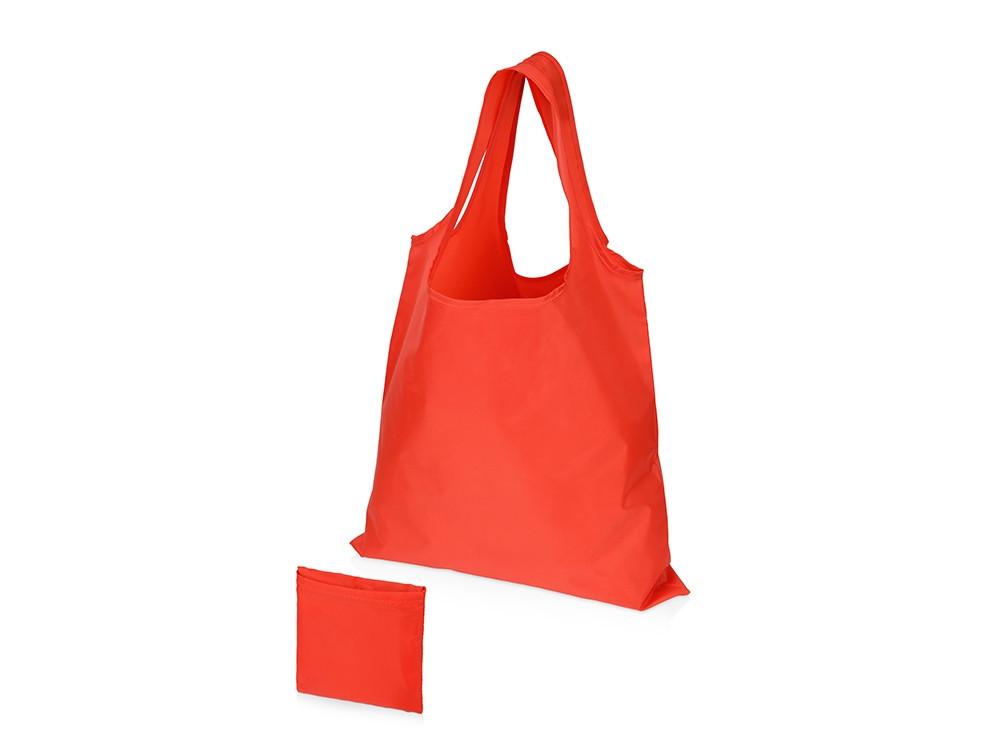 Складная сумка Reviver из переработанного пластика, красный