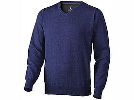 Пуловер Spruce мужской с V-образным вырезом, темно-синий