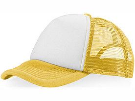 Бейсболка Trucker, желтый/белый