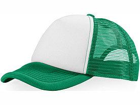 Бейсболка Trucker, зеленый/белый