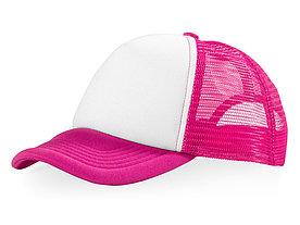 Бейсболка Trucker, розовый/белый