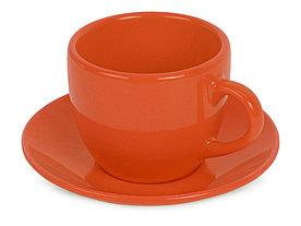 Чайная пара Melissa керамическая, оранжевый (Р)
