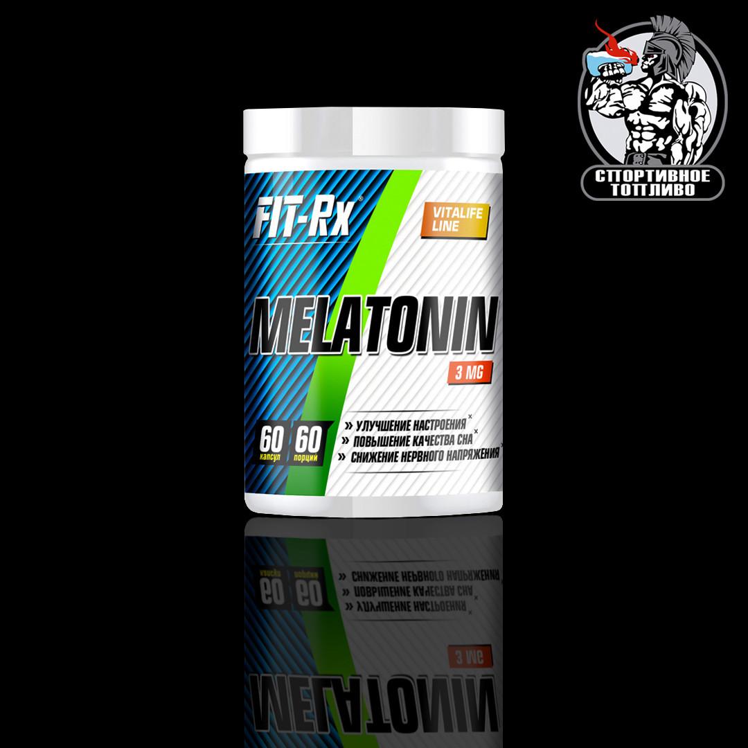 FitRx - Melatonin 3mg 60капс/60порций