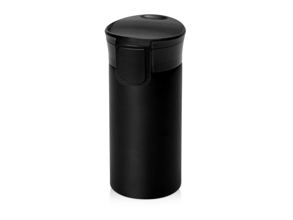 Вакуумная термокружка с кнопкой Upgrade, Waterline, черный