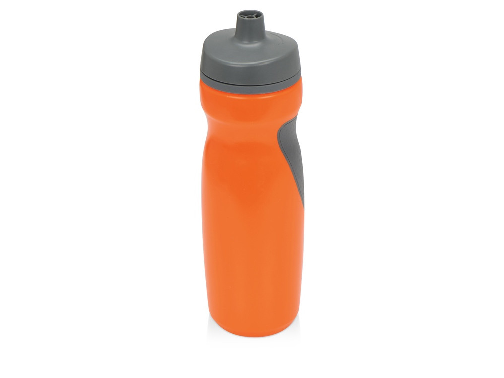 Спортивная бутылка Flex 709 мл, оранжевый/серый