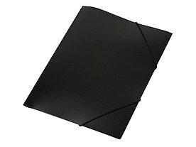Папка формата А4 на резинке, черный