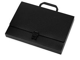 Папка-портфель А4, черный