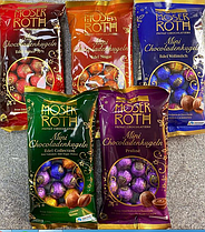 Шоколадные шарики Moser Roth 150 гр (ассорти вкусов)