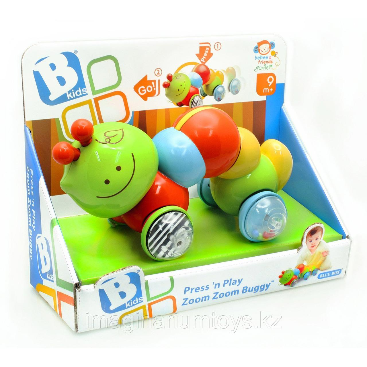 Развивающая игрушка для малышей «Гусеничка - путешественница» B Kids
