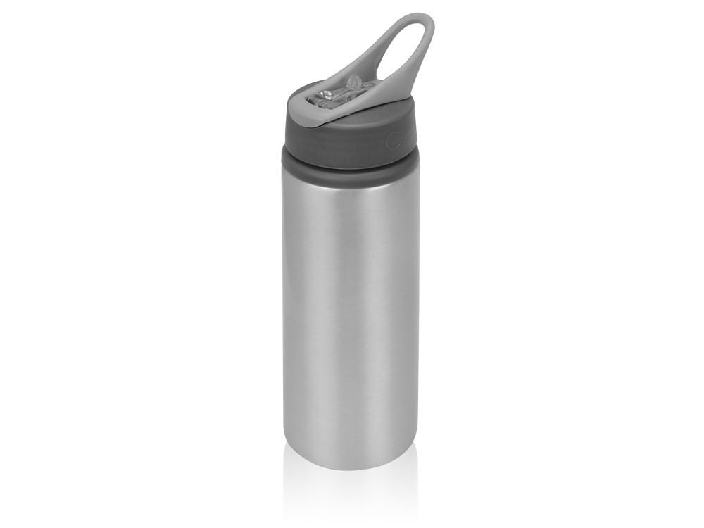 Бутылка для воды Rino 660 мл, серебристый
