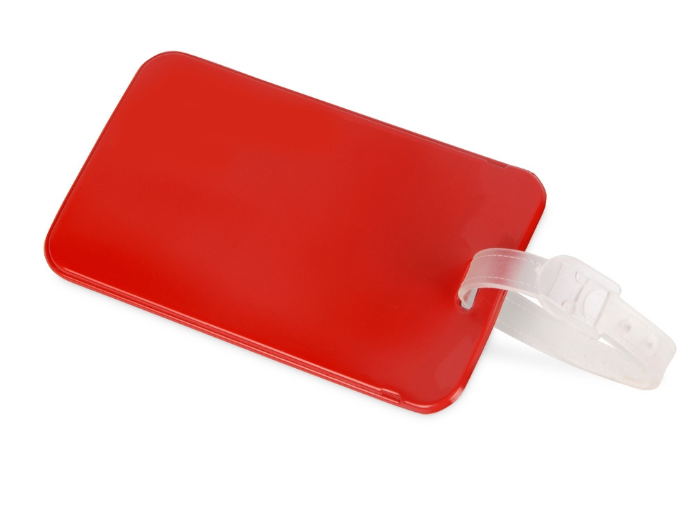 Бирка для багажа Voyage 2.0, красный