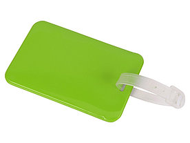 Бирка для багажа Voyage 2.0, зеленое яблоко