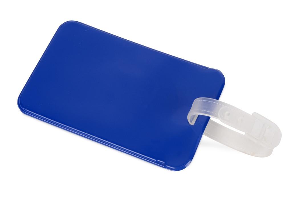 Бирка для багажа Voyage 2.0, синий