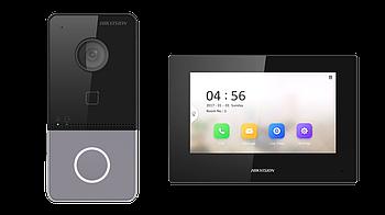 Hikvision DS-KIS605-P Комплект IP видеодомофона