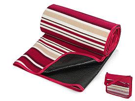 Плед в полоску в сумке Junket, красный